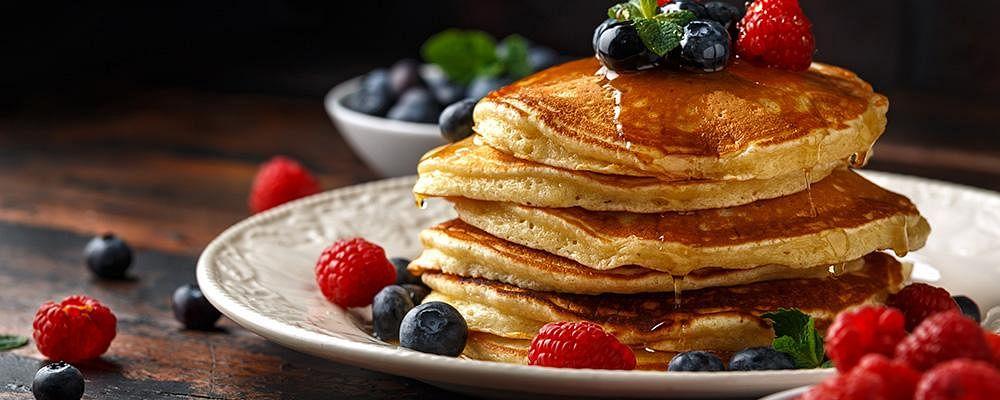 Recipe: Sparkling Water Pancakes
