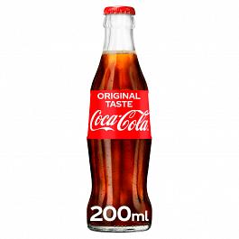 Coca Cola Original Taste 24 X 200ml Glass Bottle 24 Pack Turner Price